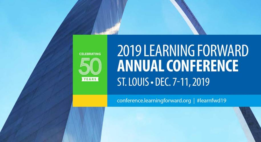 Dr. Jennifer Parvin and Dr. Donna Micheaux are presenting at the Learning Forward Annual Conference in St. Louis.